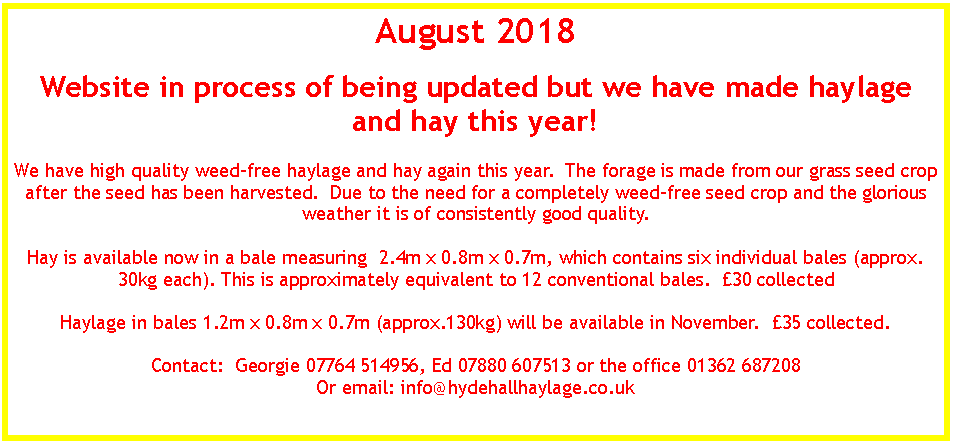 Text Box: August 2018